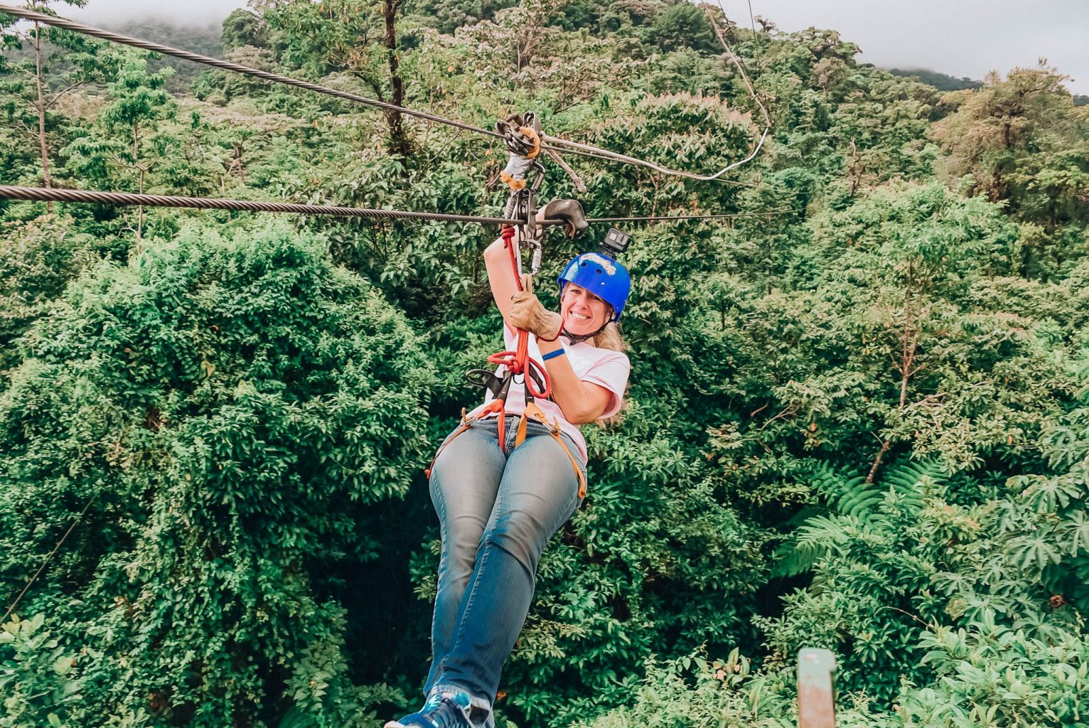 Popular things to do in Costa Rica with kids include ziplining through the rainforest