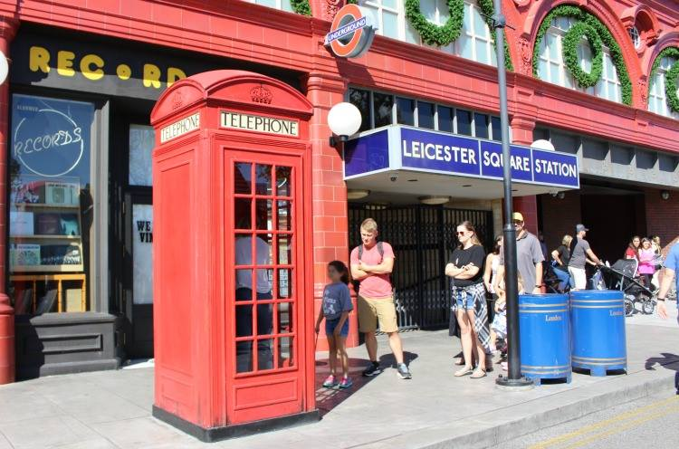 A secret of Diagon Alley is being able to call the Ministry of Magic.