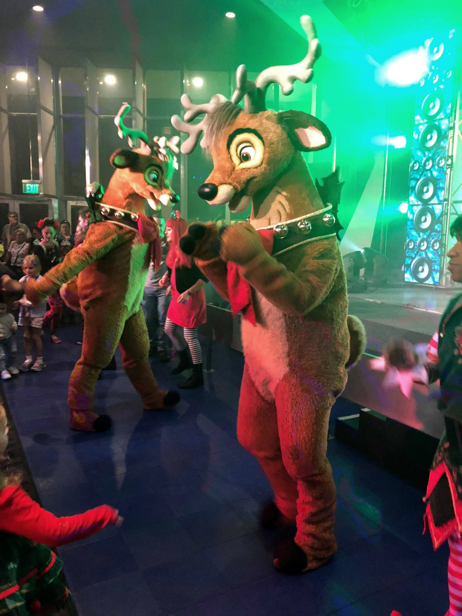 Dance the night away at Club Tinsel during Mickey's Very Merry Christmas Party.