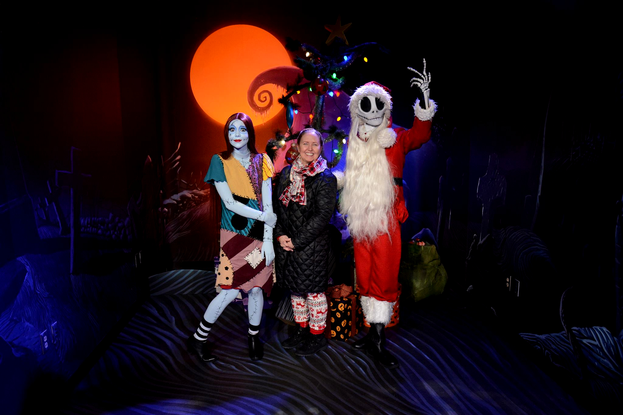 Meet Sandy Claws at Mickey's Very Merry Christmas Party.