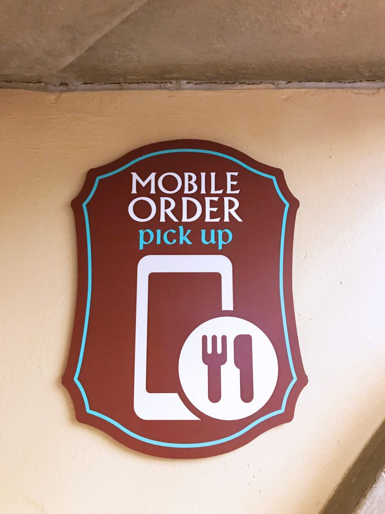 Mobile Ordering is changing the face of Disney Quick Service Dining-for the better!