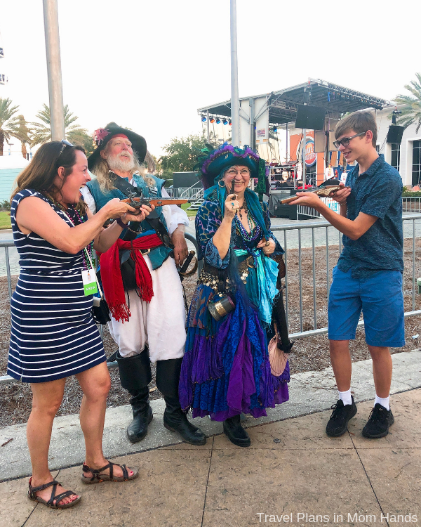 Always look for fun seasonal events when searching for things to to do in Panama City Beach; the Pirates of the High Seas Fest was local fun and very festive.