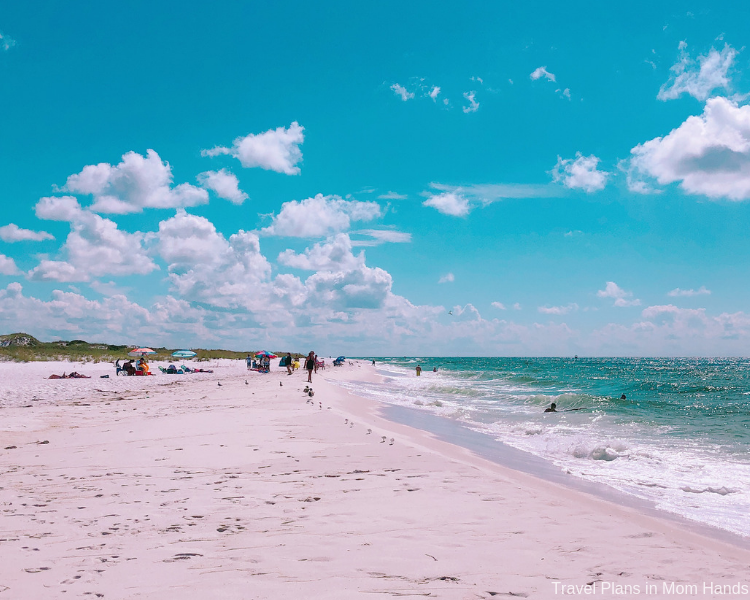 Things to Do and Eat in Panama City Beach include enjoying the pristine beaches on Shell Island.