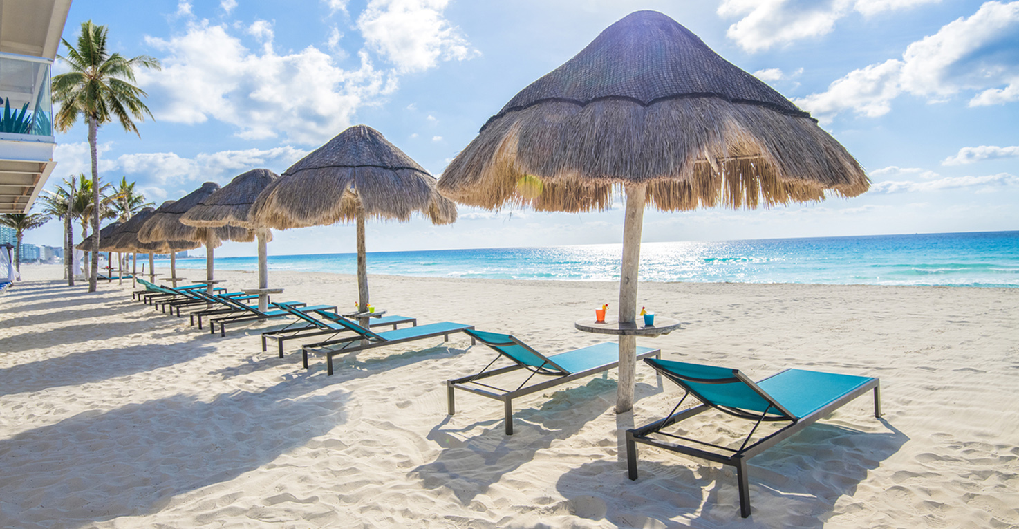 Say hola to your next Mexico beach vacation at this oceanfront all-inclusive resort in Mexico Photo credit: Panama Jack Resorts Cancun