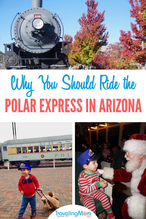 Are you thinking about planning a vacation to the Polar Express in Arizona? From the train itself to the family friendly atmosphere, there are several reasons why you should ride the Polar Express in Arizona! Photos by Multidimensional TravelingMom, Kristi Mehes.