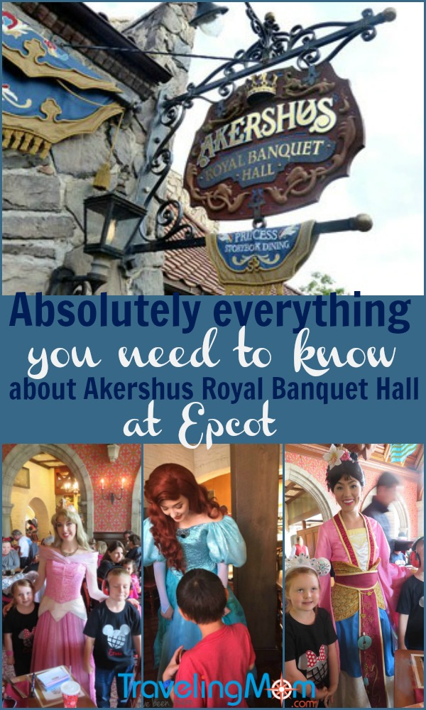 Everything you need to know about Disney Storybook Dining at Akershus Royal Banquet Hall at EPCOT