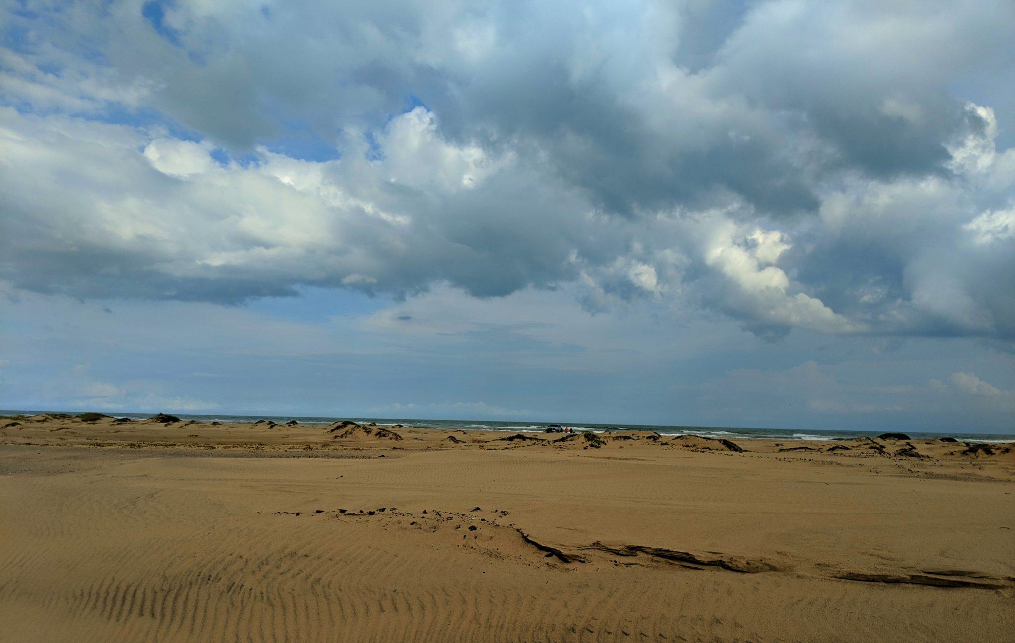 The beach on South Padre Island Texas