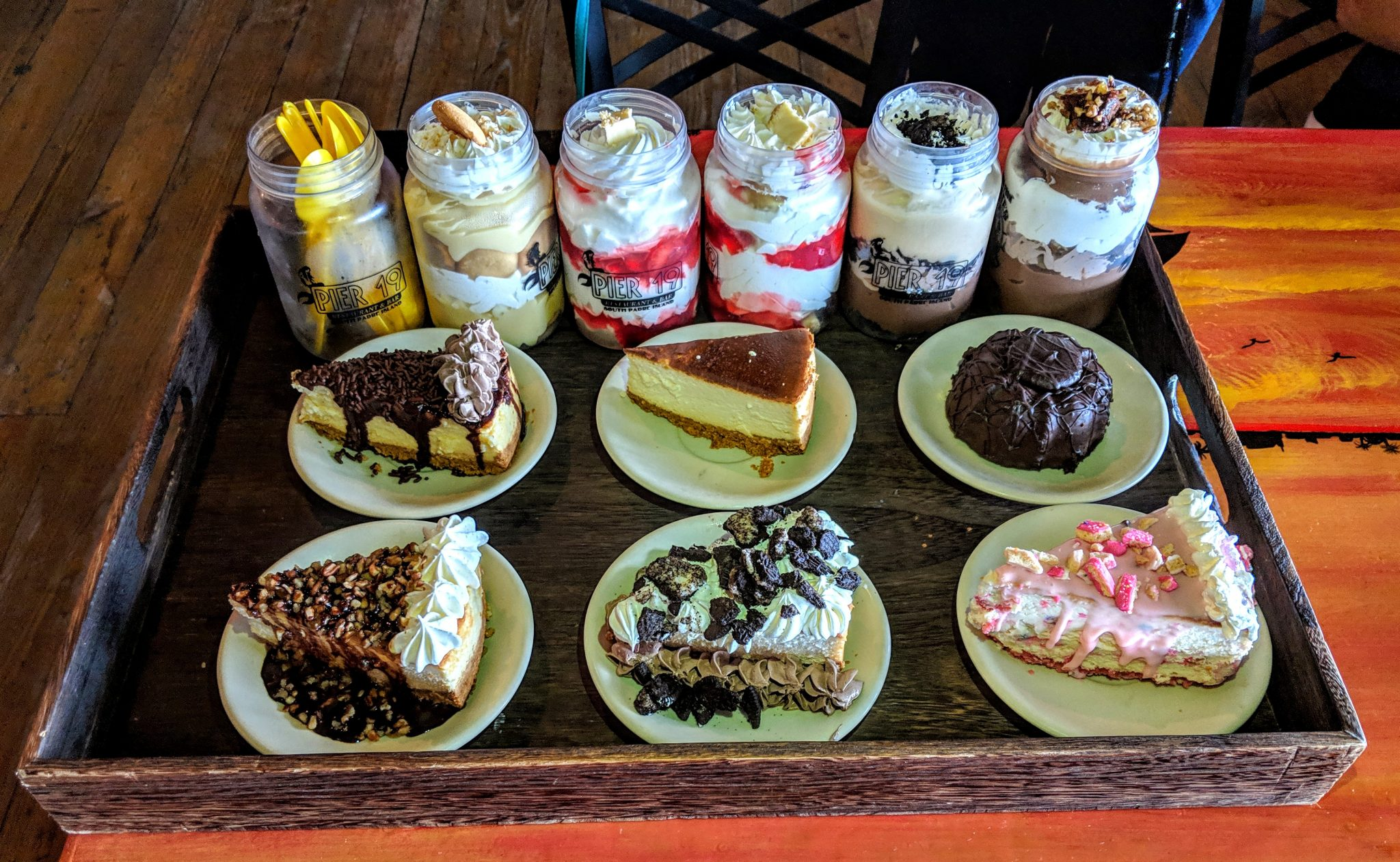 Things to do on South Padre Island Texas - eat dessert!