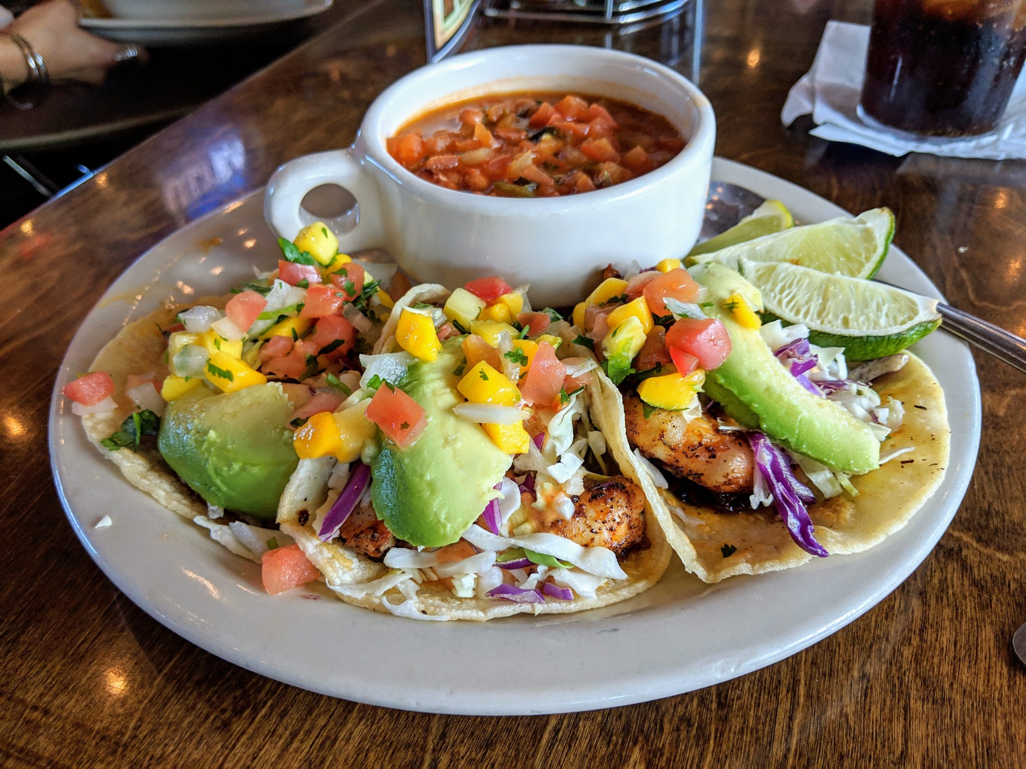 Things to do on South Padre Island Texas - eat fish tacos.