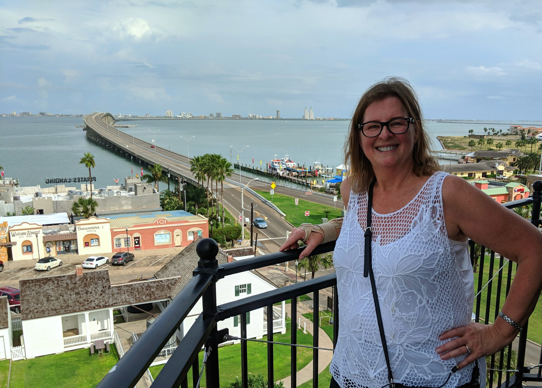 View from the Port Isabel lighthouse on South Padre Island Texas - TravelingMom