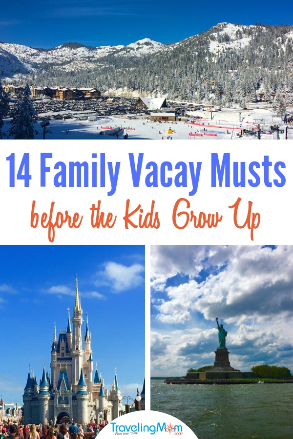 The parent truth, kids grow up too fast. So spend your precious summer vacations wisely and see the U.S. Here's the top family travel destinations from a TravelingMom that's driven her three kids across the U.S. #TMOM #familytravel