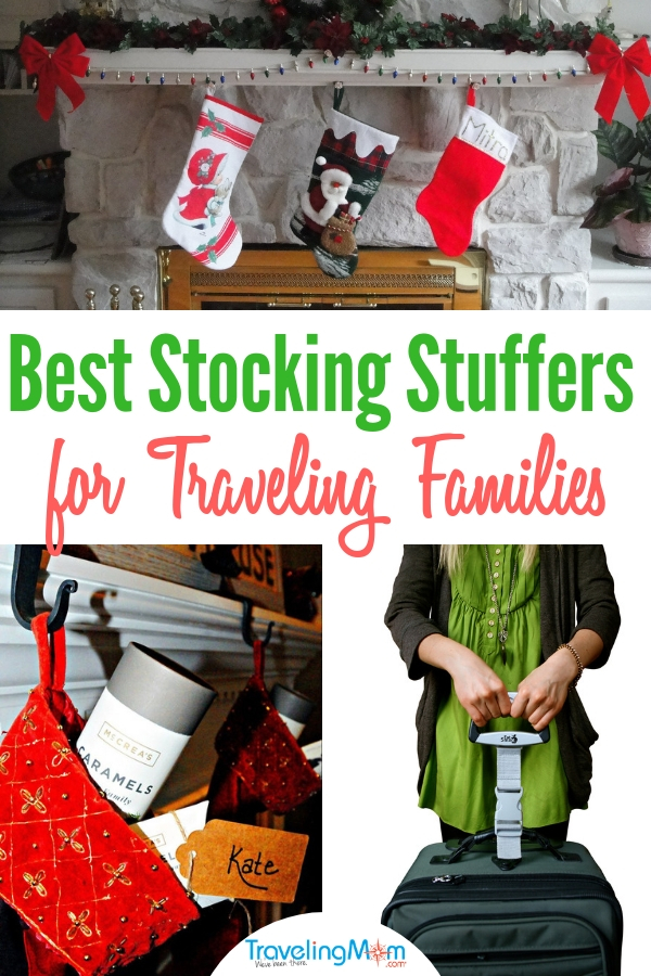 Forget the toothbrushes and candy canes. This year, choose useful, meaningful stocking stuffers for your favorite travelers. #StockingStuffers #GiftGuide #TravelingFamily