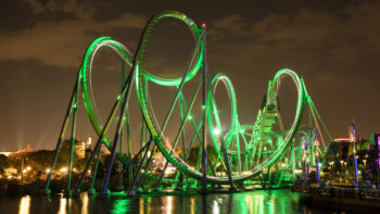 Incredible Hulk Coaster at Universal Orlando - TravelingMom