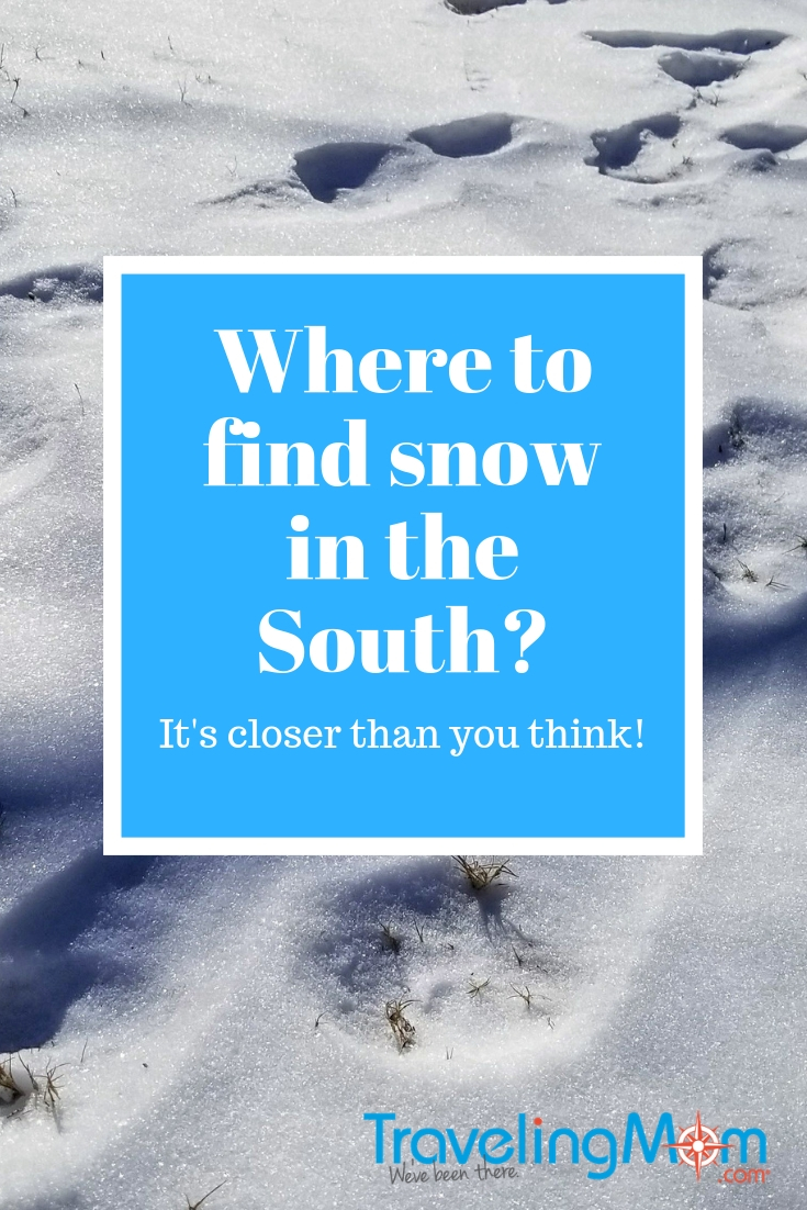 Snow in the South is a thing...and it's easier to find than you think! You just have to know where to look! #winter #snow #skiresort #familytravel #tmom #beechmountain