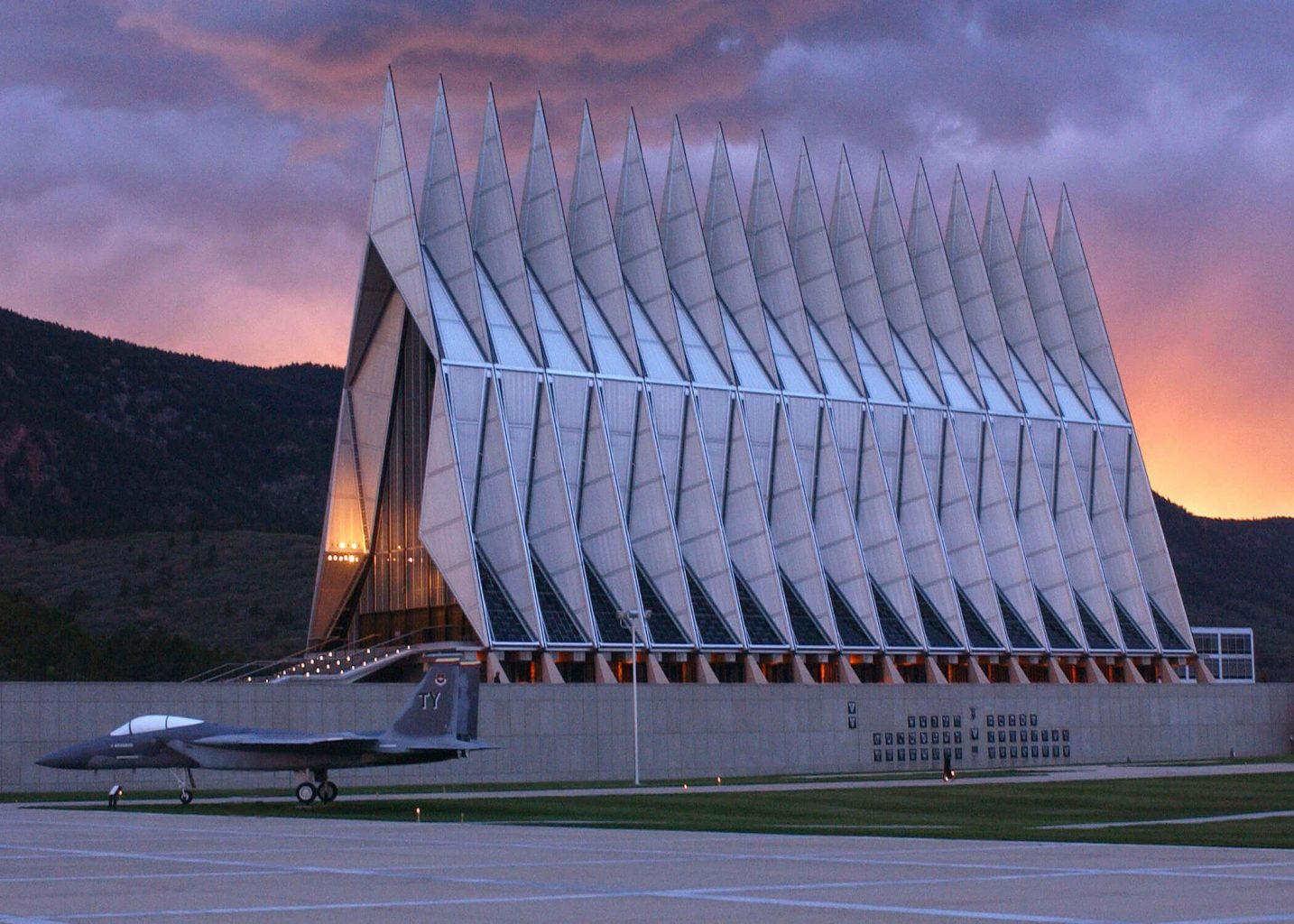 The US Air Force Academy is one of the coolest Free Things To Do In Colorado Springs.