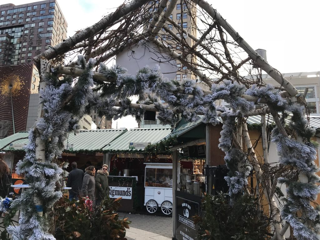 If you can resist impulse buys, holiday markets are top free things to do in NYC in winter