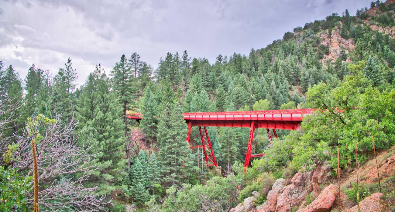 The Gold Belt Scenic Byway is one of the gret Free Things To Do In Colorado Springs.