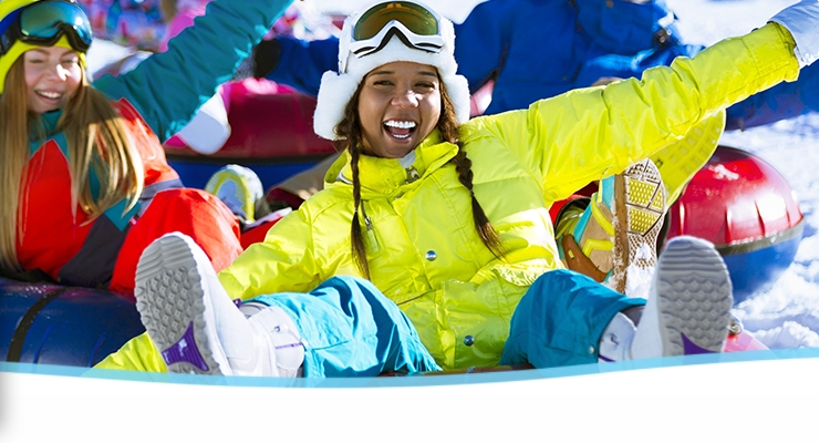 Visit License to Chill at Margaritaville at Lake Lanier, Georgia for a new take on winter fun and snow in the South.