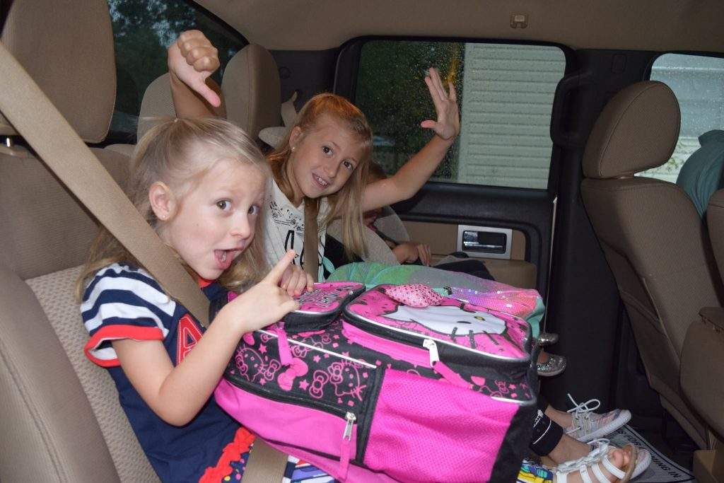 Road trips with toddlers and kids can be tough so bring the snack foods.