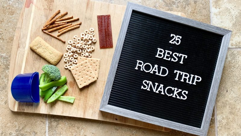 Road trip snacks for toddlers that they'll love. Healthy snacks to pack!