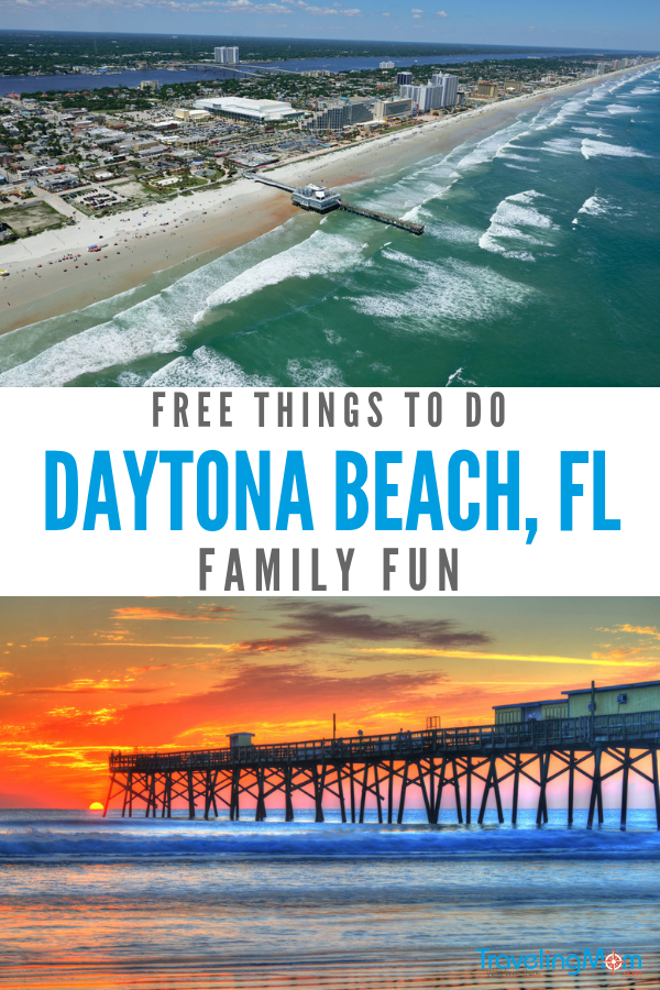 Taking a Florida vacay with kids? Here are #freethingstodo indaytonabeach #thingstodoindaytonabeach #daytonabeachfl