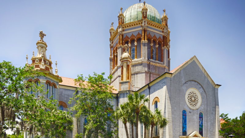 If you are an architecture buff, St. Augustine provides a wealth of things to do
