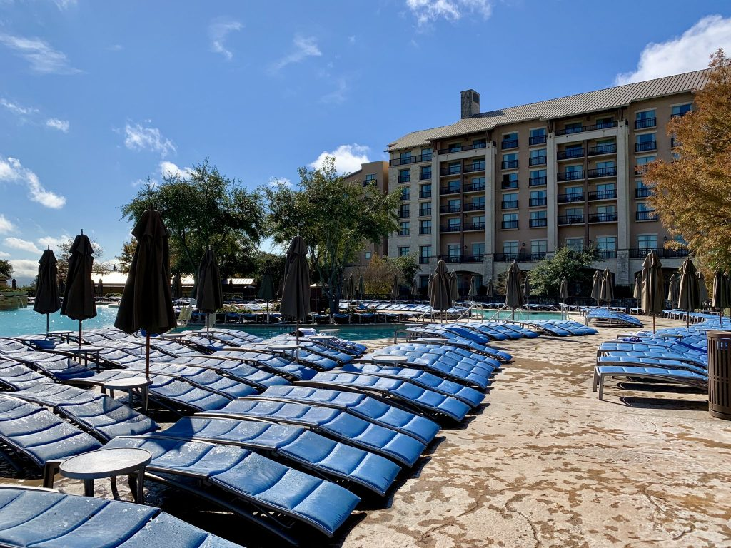 You must stay at the JW Marriott San Antonio Hill Country Resort and Spa on your weekend in San Antonio