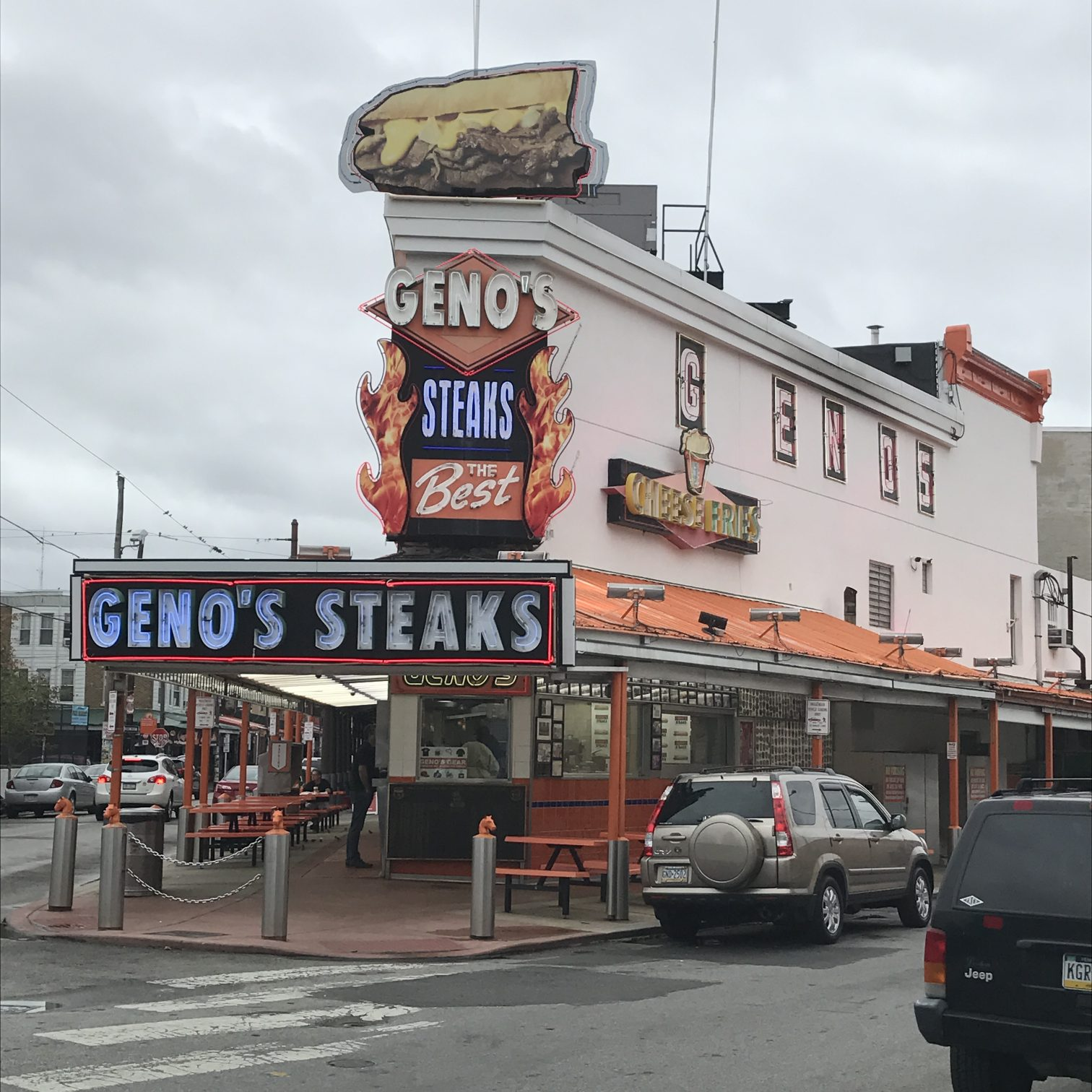 It's no Philadelphia secret that visitors flock for our cheesesteaks.