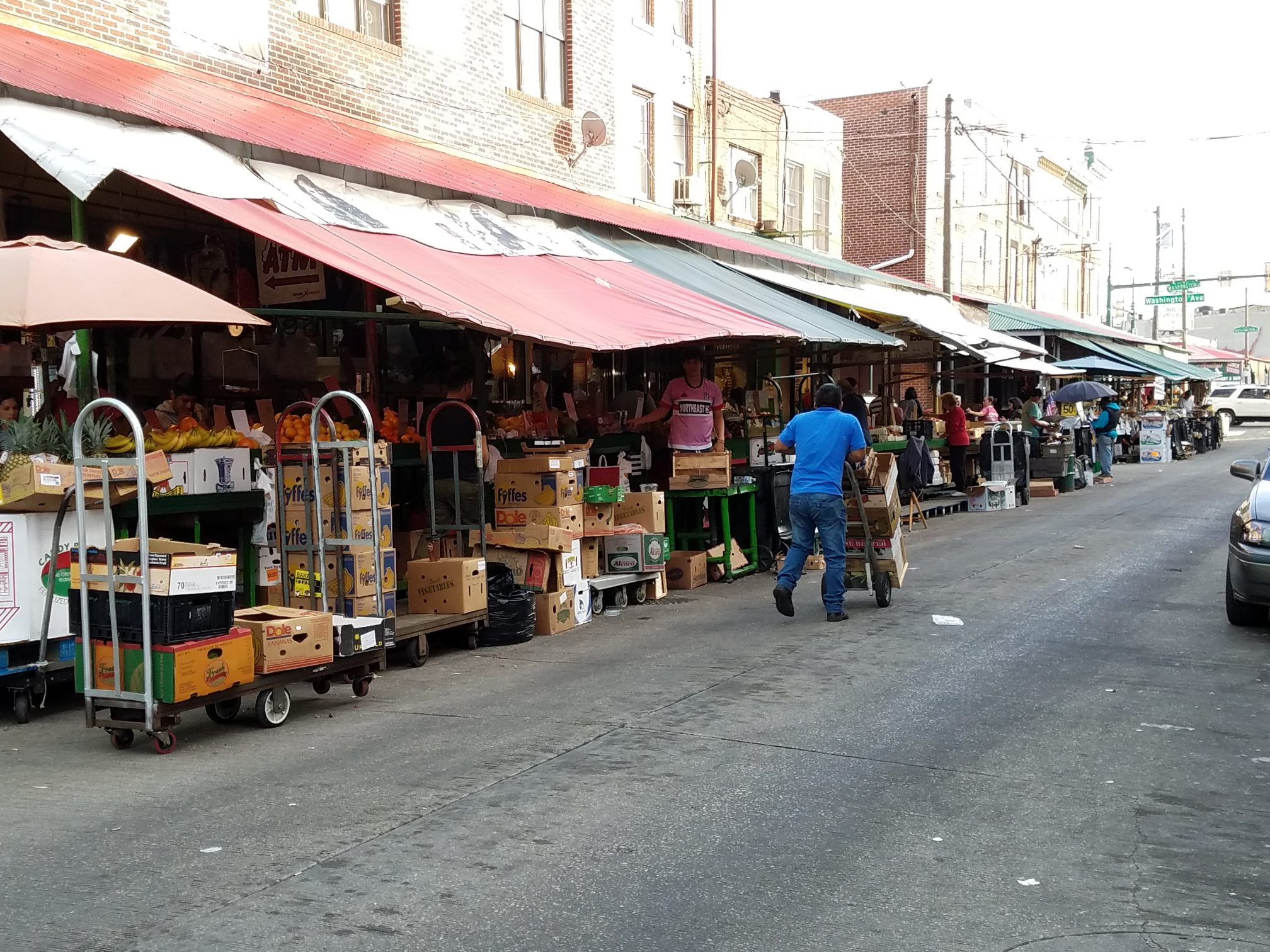 Philadelphia secrets include a variety of Rocky sites, like the Italian Market.