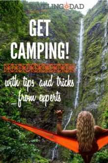 Attention camping haters - this DadTravels podcast is designed to convince you that #camping is fun! Listen and learn. #nature #outdoors