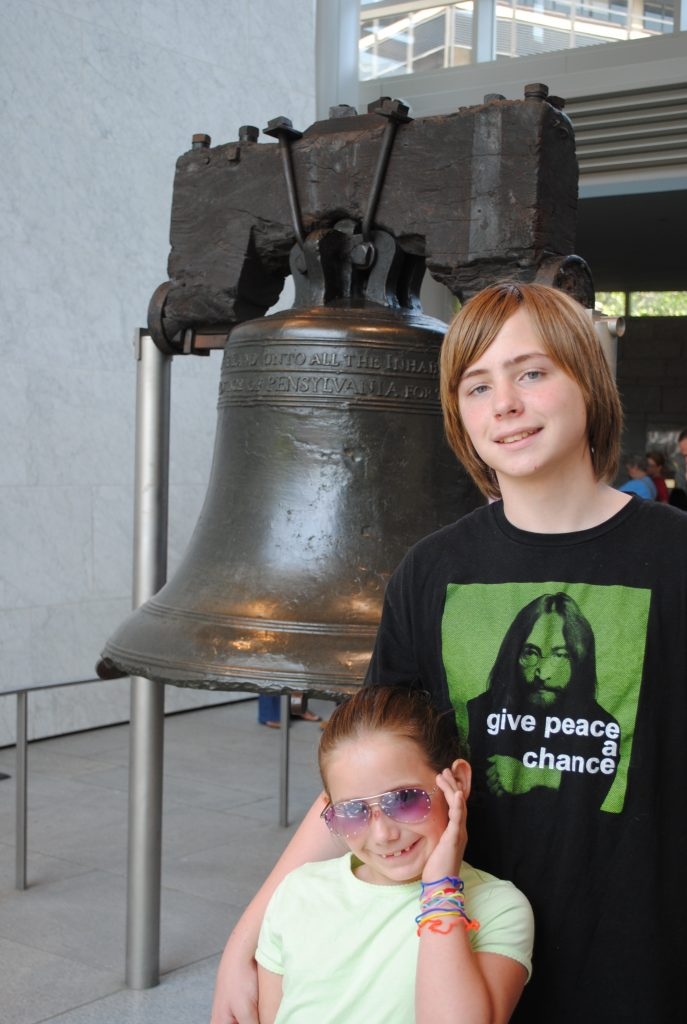 The Liberty Bell is no Philadelphia secret. It rings for all of us!