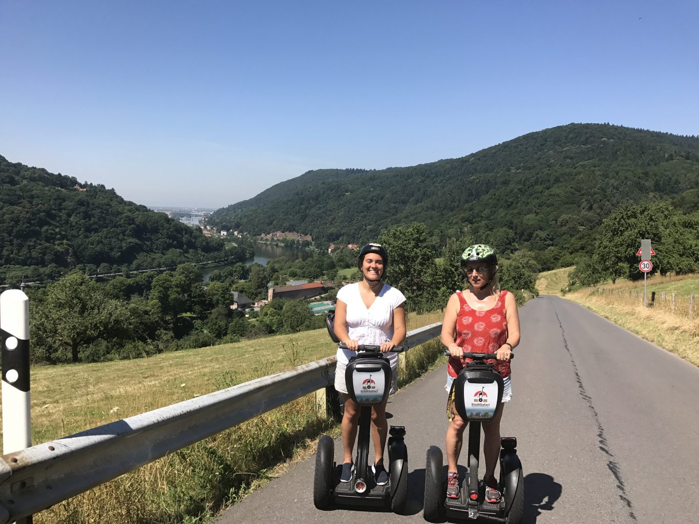 Segway tour in Heidelberg, Germany - a fun thing to do when visiting Germany with teens