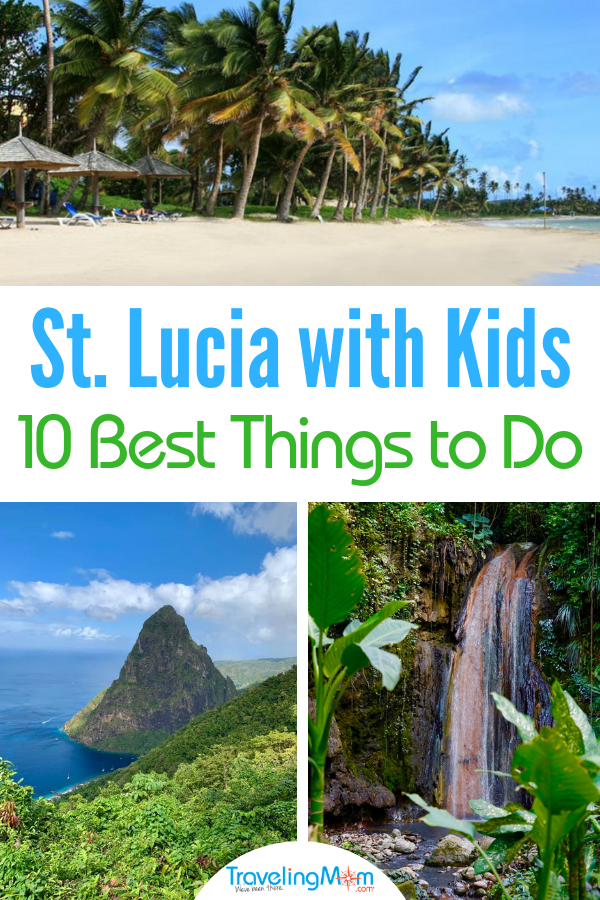 There are so many things to do in St. Lucia with Kids while on a family vacation. We've got you covered with our list of the 10 best.