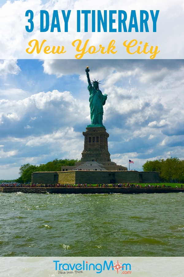 New York City offers top museums, parks, urban hiking, national park sites and even cheap eats for families. Read on for a comprehensive 3 day NYC itinerary including subway directions. #TMOM #NYC #NewYorkCity