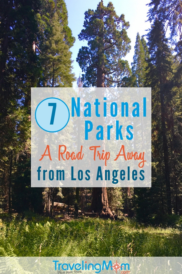 Load up the SUV and head to a National Park, a road trip away from LA. Less than 4 hours from Los Angeles, find redwood forests, deserts and tide pools. Find cabins, horseback riding and hiking. #California #NationalParks #NPS #travel