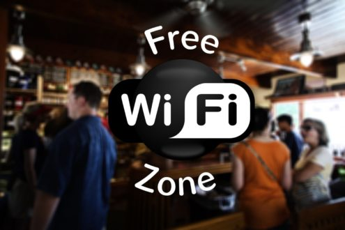 Cyber security tips - beware of free wifi hotspots.