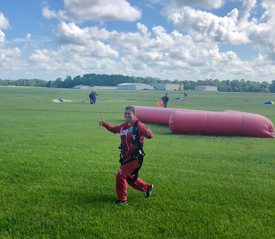 DeLand, Florida, is one of the best places in the whole country to go sky-diving and are known world-wide for their safety and training programs.