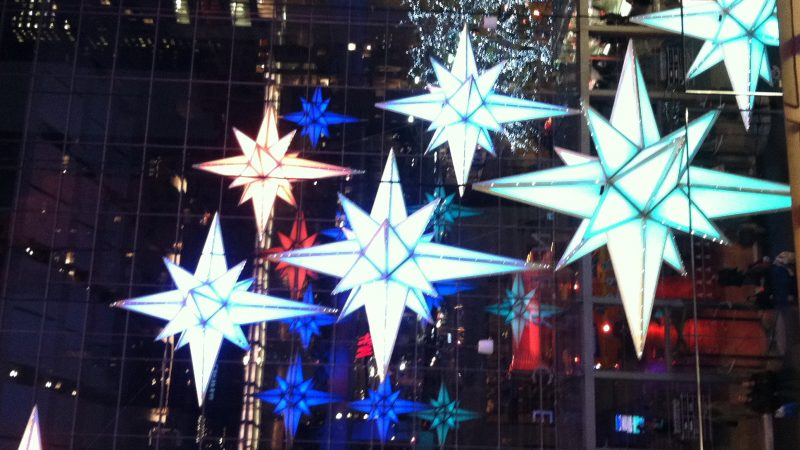 You can see stars for free in NYC in winter
