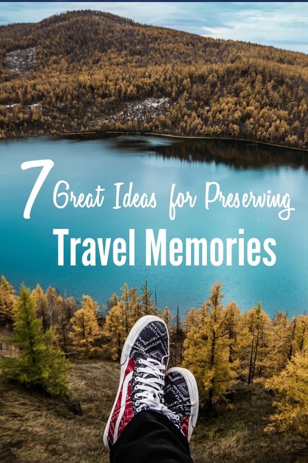 Family travel is all about making memories. These 7 easy #DIY ideas will help preserve those #family #travel #memories.