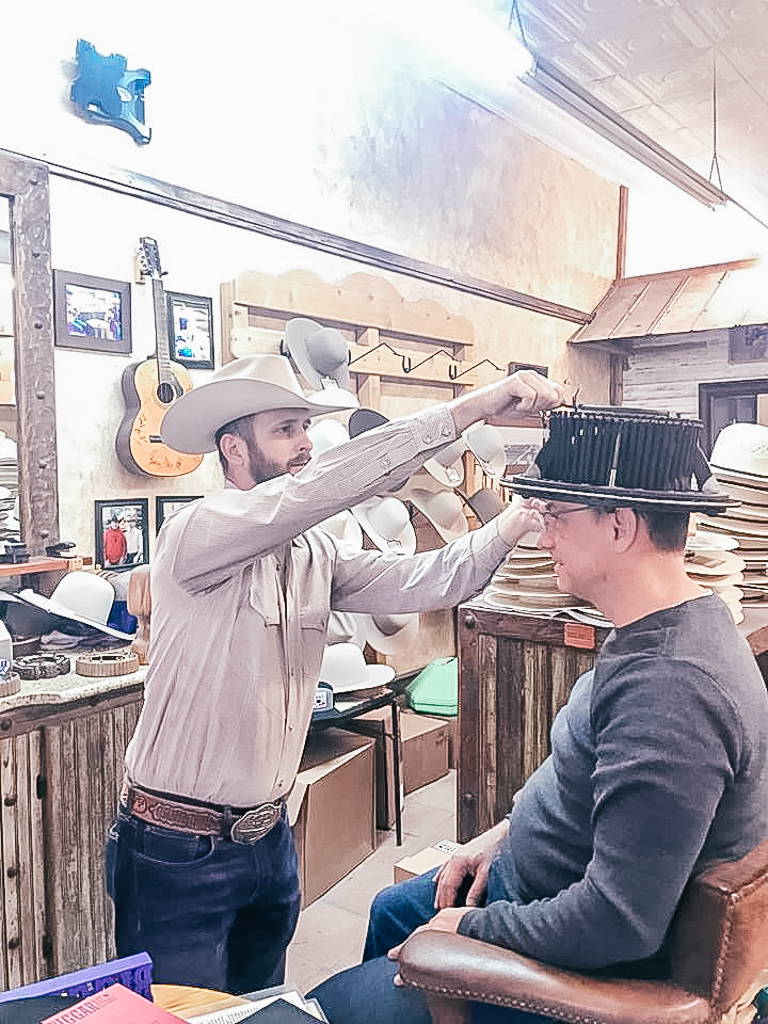 Exploring Biggar Hat Store is one of the awesome things to do with kids in Decatur TX