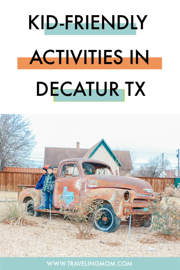 There are so many Awesome things to do in Decatur TX with kids