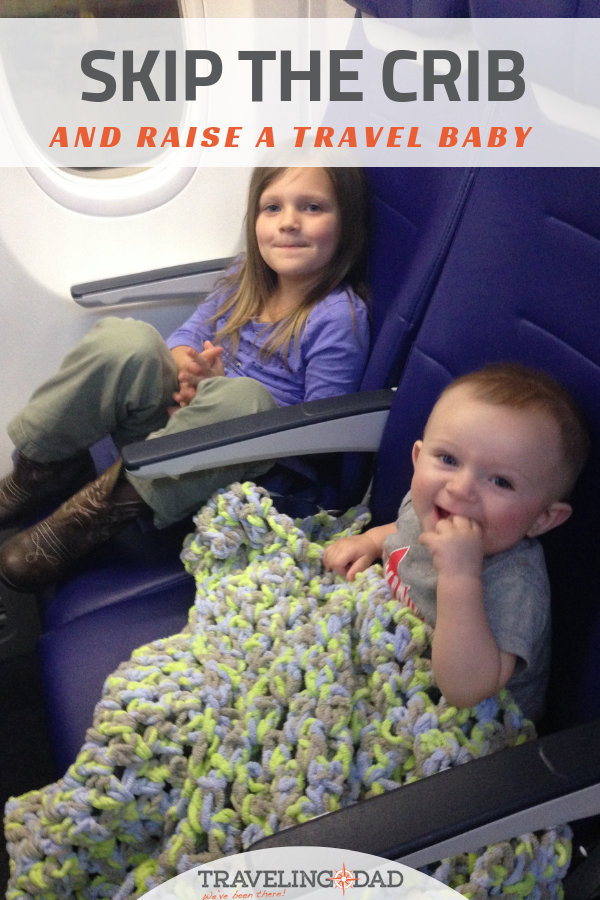Ditch the crib and raise a baby who can sleep anywhere! How using a playpen instead of a crib makes travel easy.