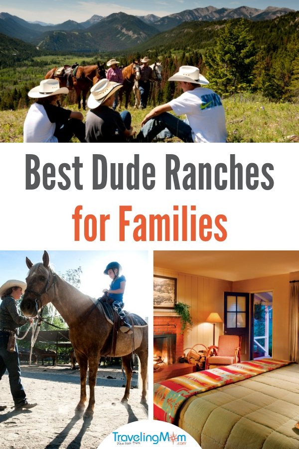 pin for best dude ranches for families