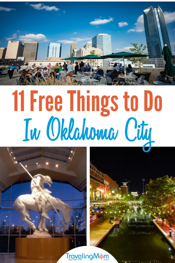 There are free things to do in Oklahoma City for the whole family. #OklahomaCity #FreeinOklahomaCity #TMOM #familyvacation