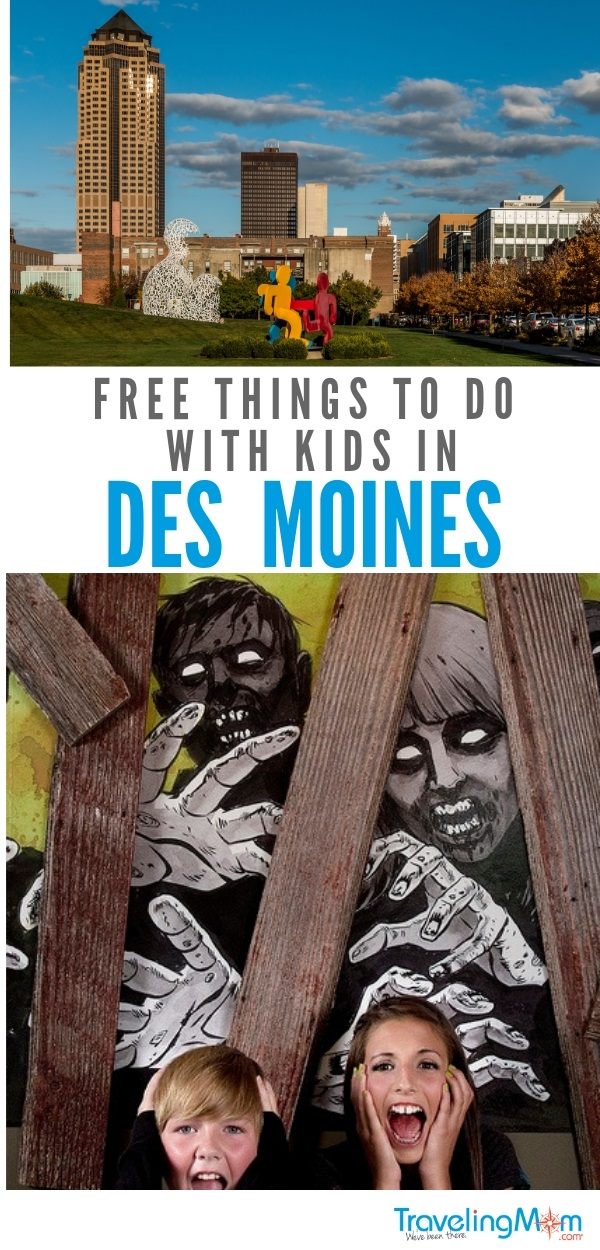 Read on for the best free things to do in Des Moines Iowa with kids. We also suggest kid friendly restaurants!