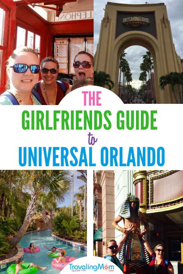 Plan your next girlfriend's getaway using the Universal Studios Guide for never ending fun.