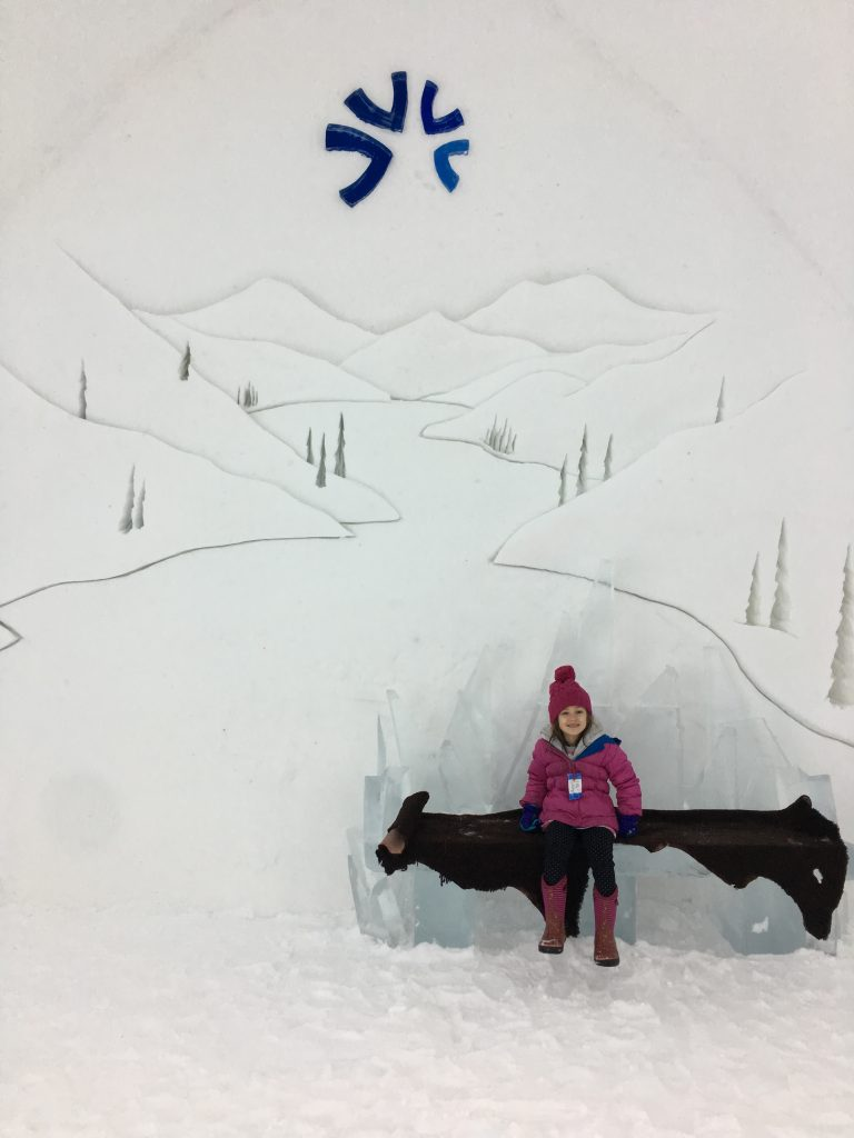 Traveling to Quebec and Montreal with kids must include a stop at an ice hotel.