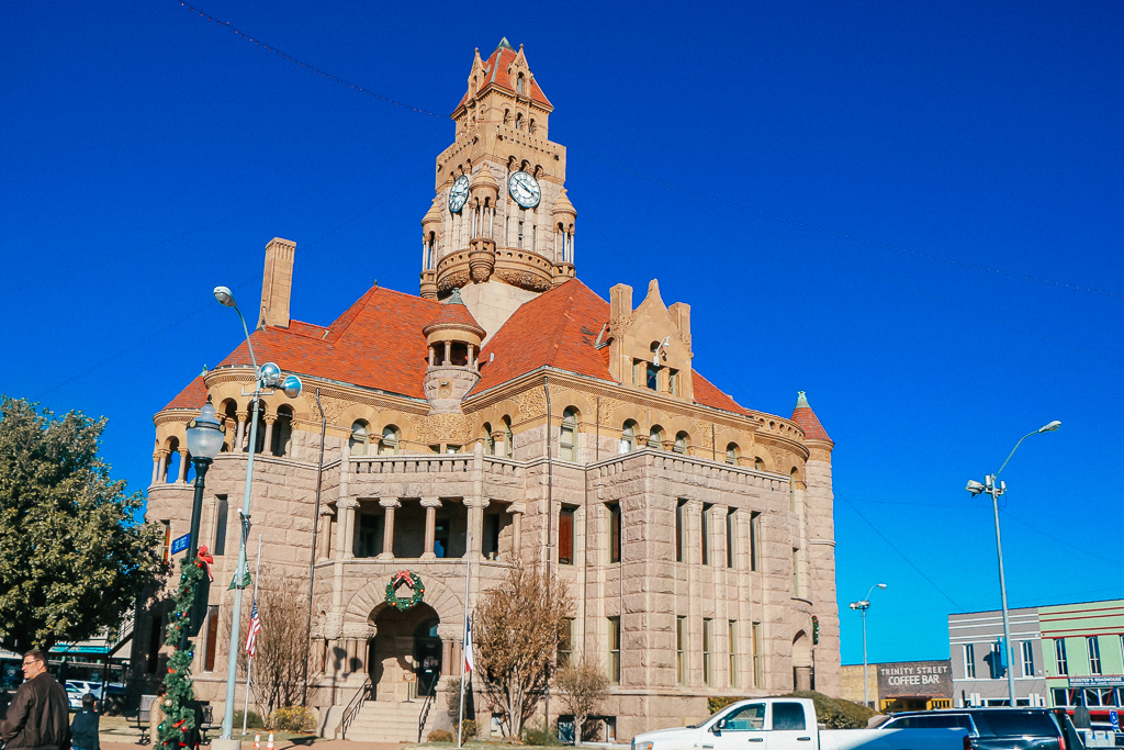 Exploring the town square is one of the awesome things to do with kids in Decatur TX