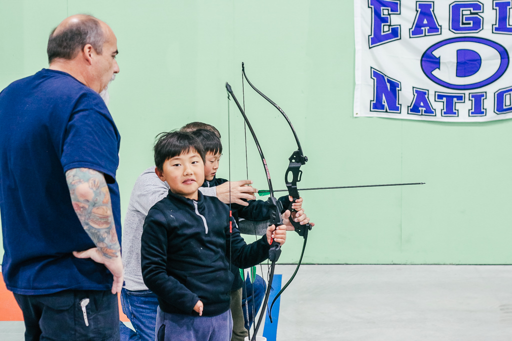 Nock It archery is one of the awesome things to do with kids in Decatur TX