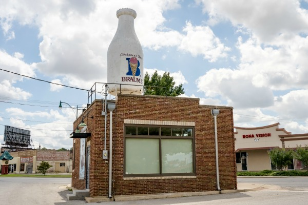 There are a wide range of free things to do in Oklahoma City including cruising along Route 66.